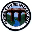 Sussex Ouse Valley Way badge